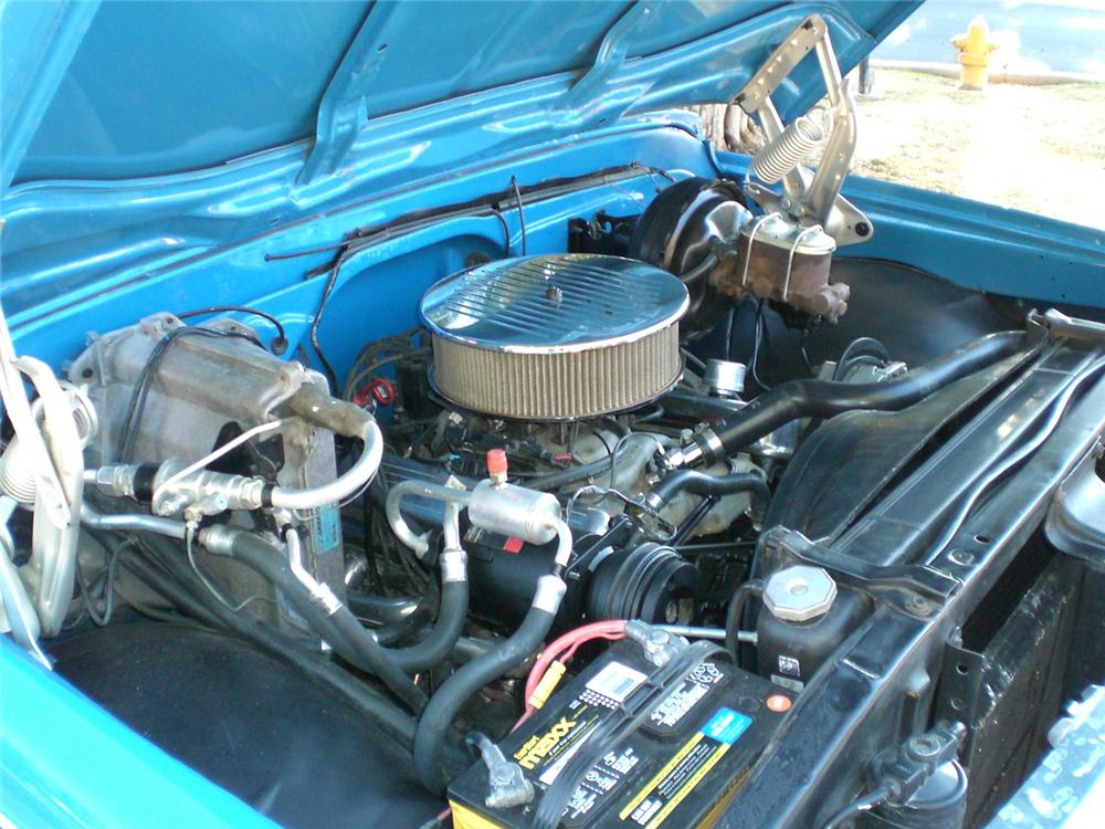 1972 CHEVROLET C-10 CUSTOM PICKUP - Engine - 70884