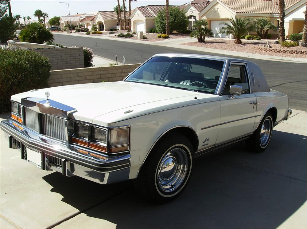1979 CADILLAC SEVILLE OPERA COUPE - Front 3/4 - 70897