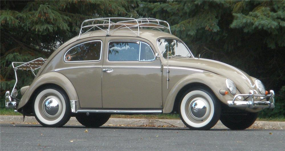 1956 VOLKSWAGEN BEETLE COUPE - Side Profile - 70907
