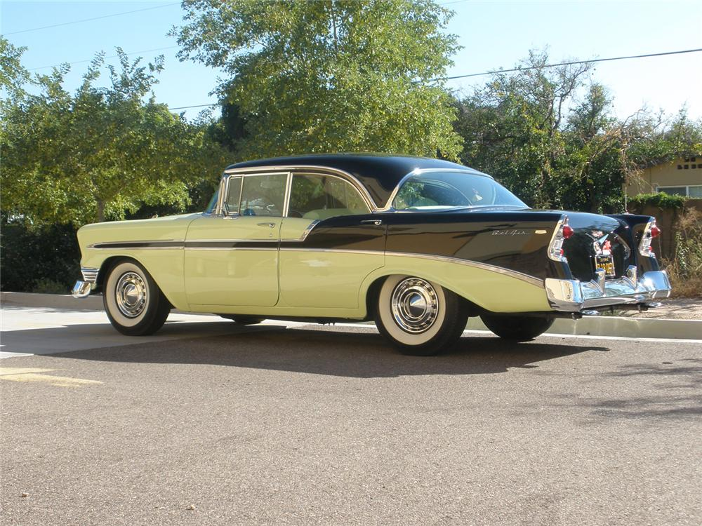1956 chevrolet bel air 4 door hardtop 70908