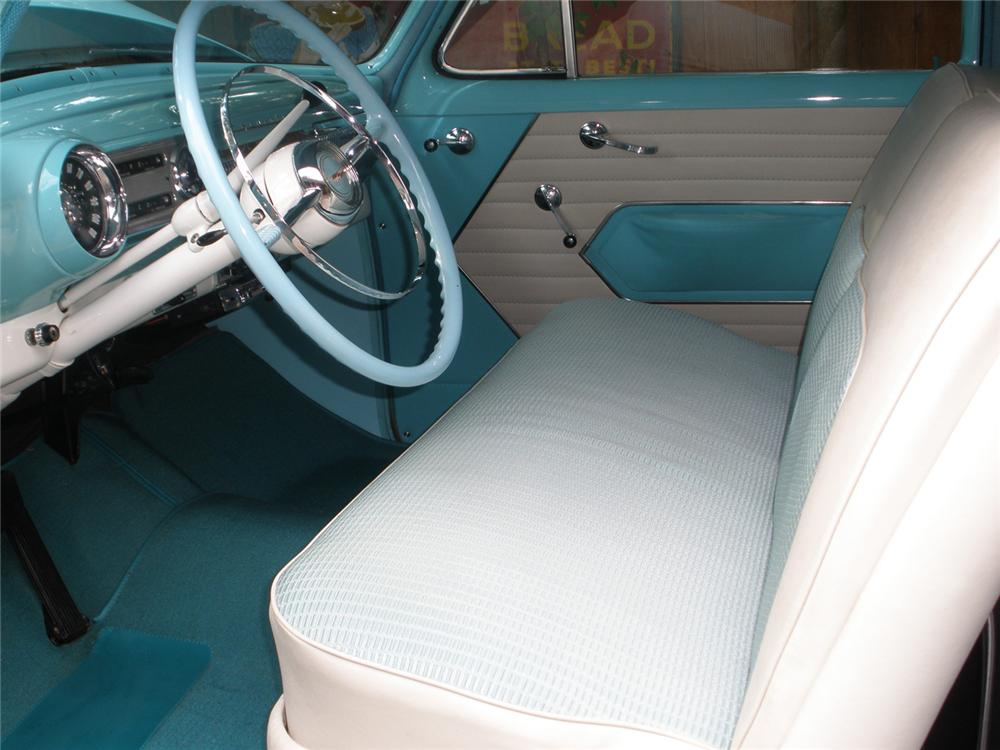 1954 CHEVROLET BEL AIR 2 DOOR SEDAN - Interior - 70909