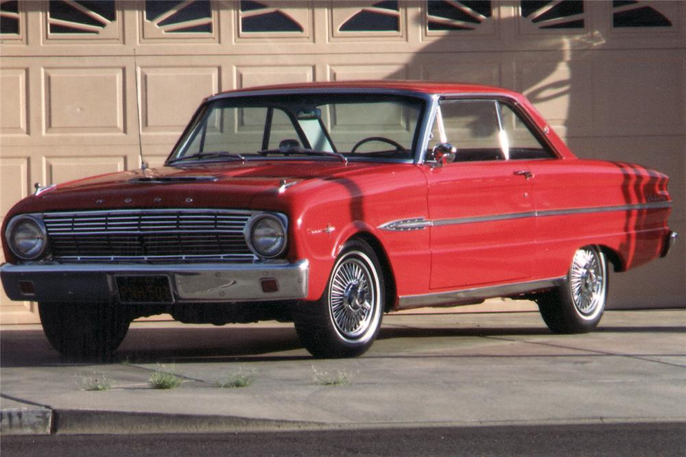 "1963 FORD FALCON SPRINT 2 DOOR HARDTOP ""AMERICAN DREAMS"" - Front 3/4 - 70912"