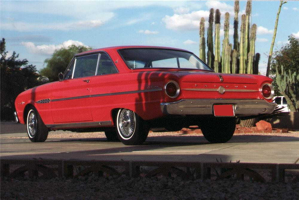 "1963 FORD FALCON SPRINT 2 DOOR HARDTOP ""AMERICAN DREAMS"" - Rear 3/4 - 70912"