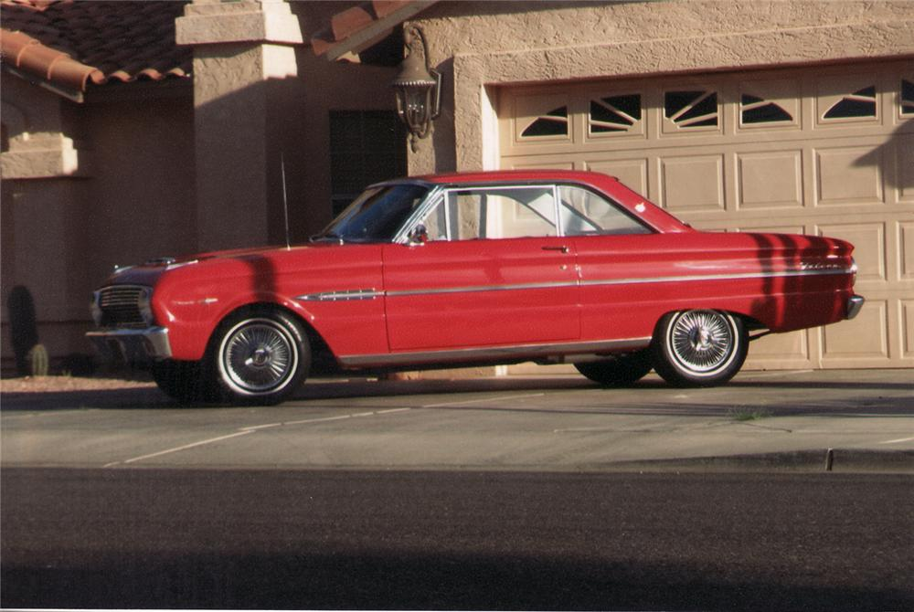 "1963 FORD FALCON SPRINT 2 DOOR HARDTOP ""AMERICAN DREAMS"" - Side Profile - 70912"