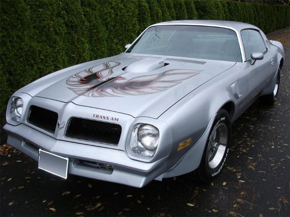 1976 pontiac firebird trans am 2 door hardtop 70918. Black Bedroom Furniture Sets. Home Design Ideas
