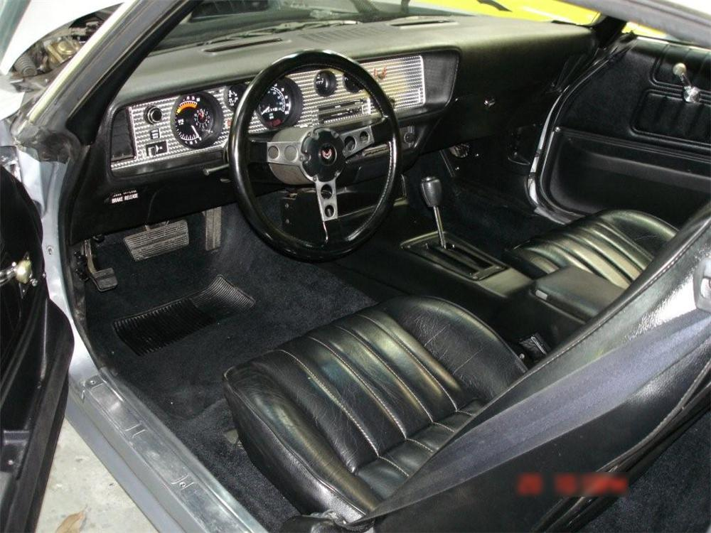 1976 PONTIAC FIREBIRD TRANS AM 2 DOOR HARDTOP - Interior - 70918