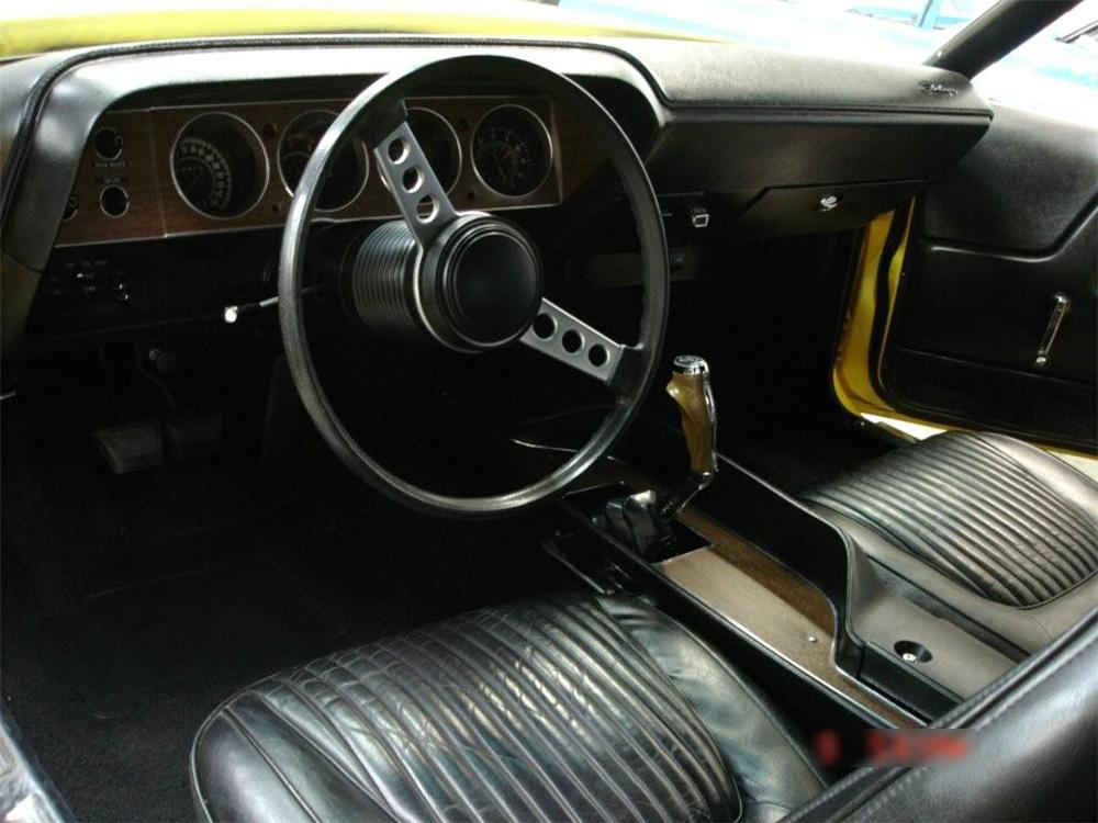 1970 DODGE CHALLENGER CONVERTIBLE - Interior - 70920