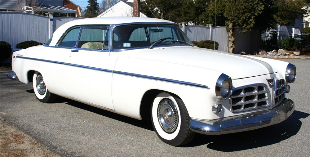 1955 CHRYSLER 300 COUPE - Front 3/4 - 70922