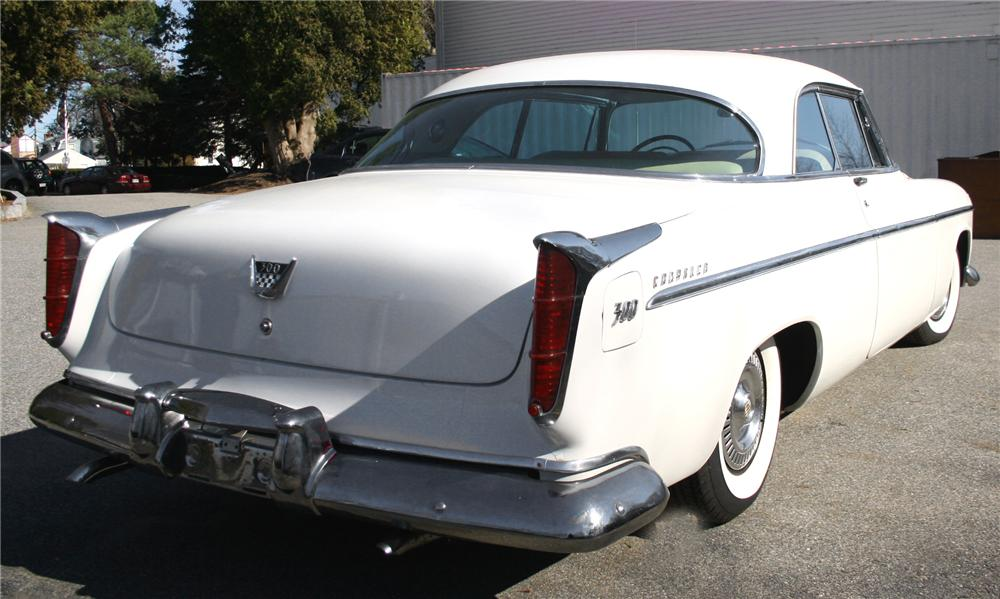 1955 CHRYSLER 300 COUPE - Rear 3/4 - 70922