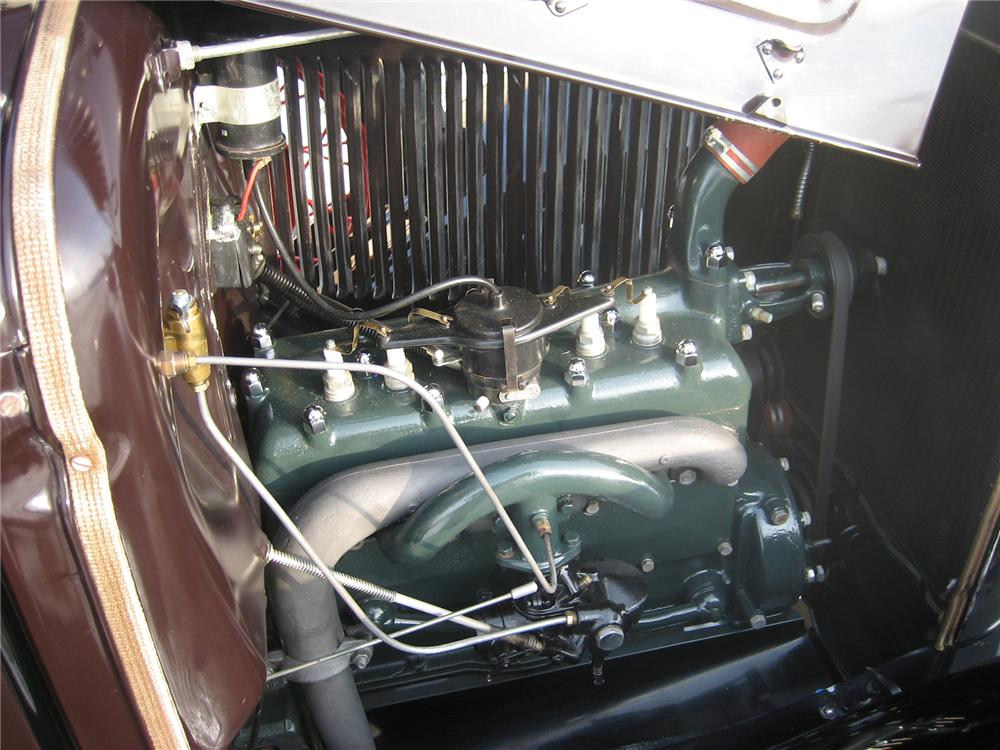 1931 FORD MODEL A PICKUP - Engine - 70924