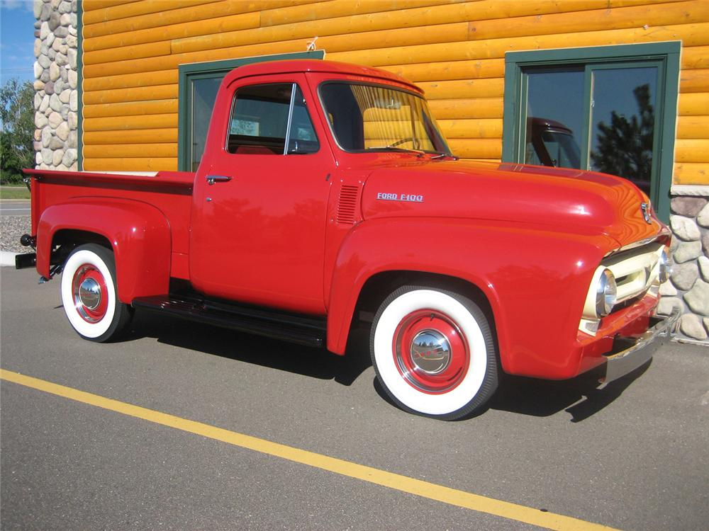 1953 FORD F-100 PICKUP - Front 3/4 - 70930