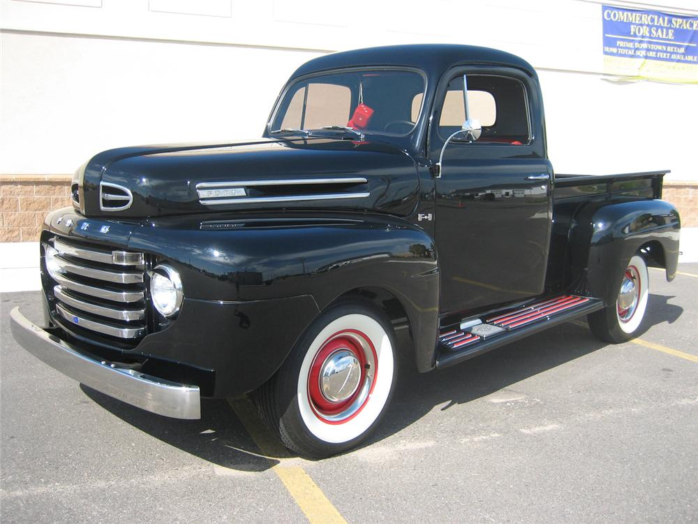 1950 ford f 1 pickup 70932. Black Bedroom Furniture Sets. Home Design Ideas