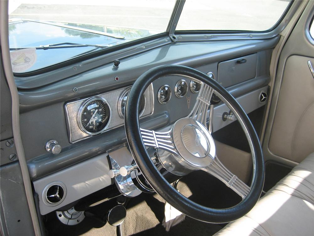 1941 FORD CUSTOM 1/2 TON PICKUP - Interior - 70933
