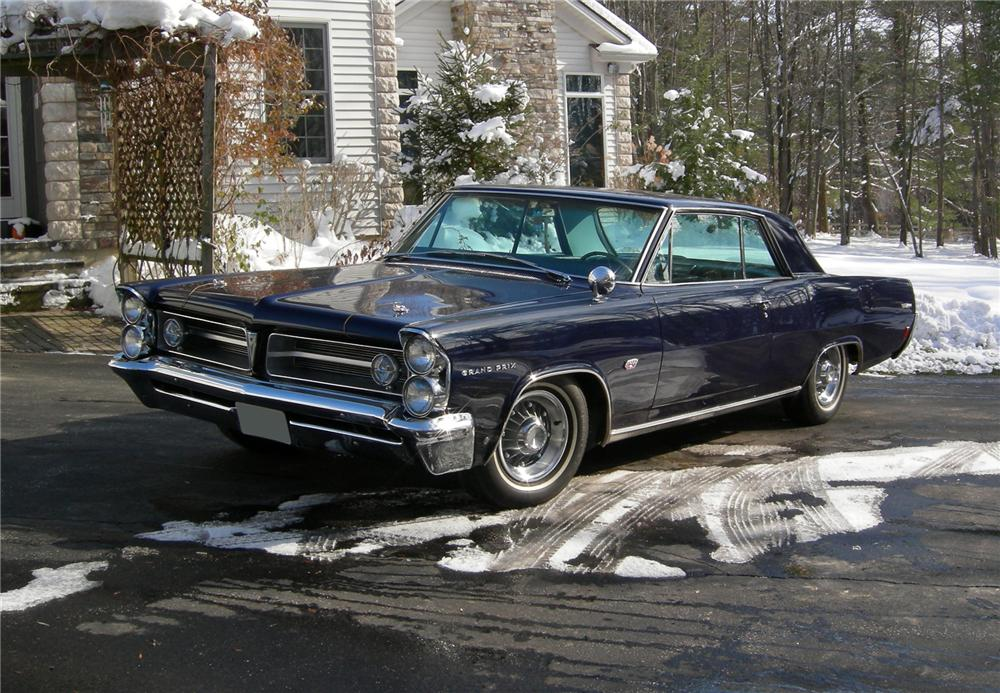 4 Door Convertible >> 1963 PONTIAC GRAND PRIX TRI-POWER 421 2 DOOR HARDTOP - 70935
