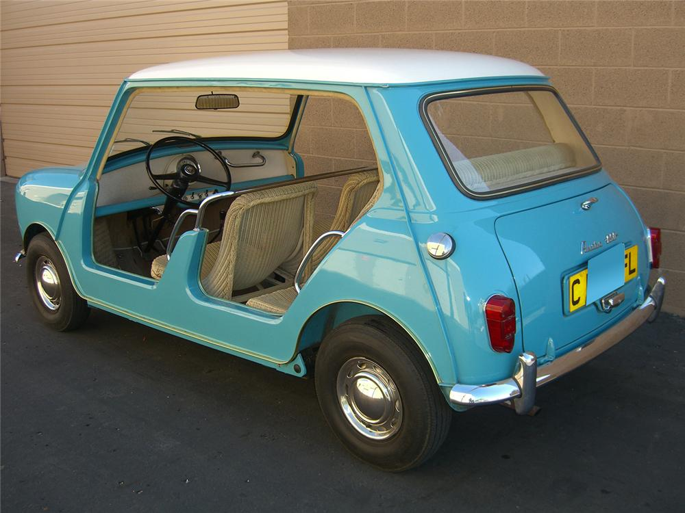 1962 AUSTIN MINI JOLLY - Rear 3/4 - 70937