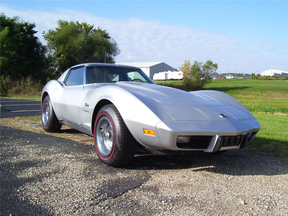 1975 CHEVROLET CORVETTE COUPE - Front 3/4 - 70939