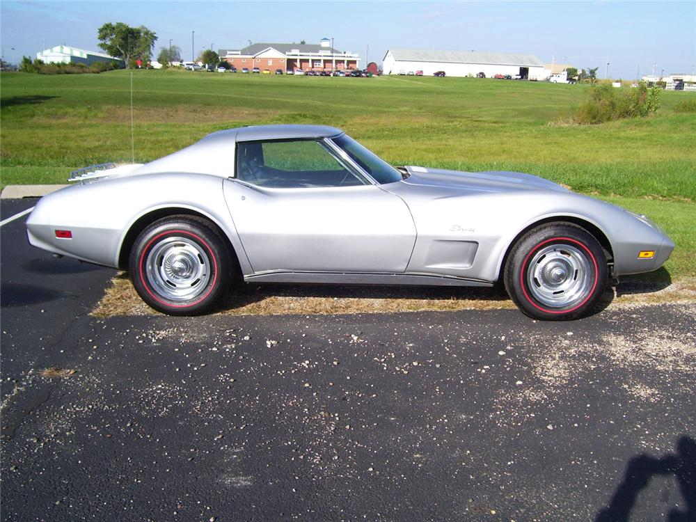 1975 CHEVROLET CORVETTE COUPE - Side Profile - 70939