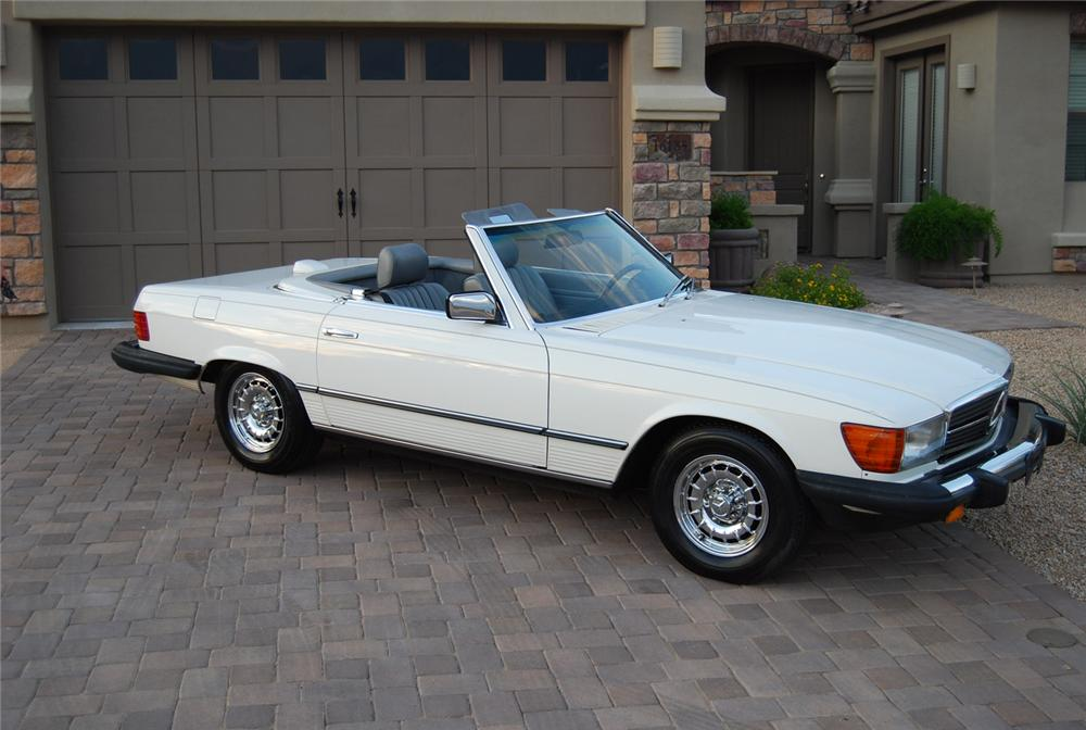 1984 mercedes benz 380sl convertible 70940