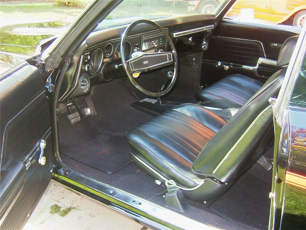 1969 CHEVROLET CHEVELLE SS 396 2 DOOR COUPE - Interior - 70951