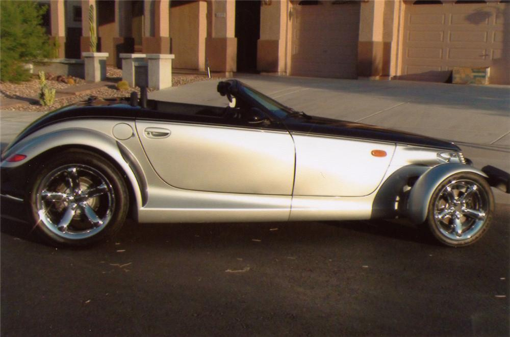 2001 PLYMOUTH PROWLER 2 DOOR CONVERTIBLE - Side Profile - 70952
