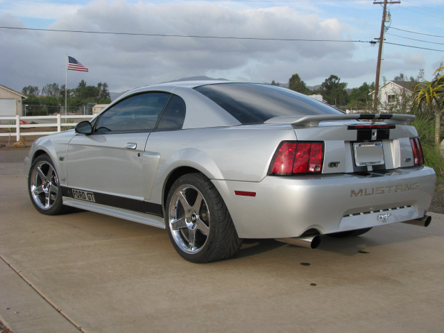 2003 FORD MUSTANG GT CUSTOM COUPE - Rear 3/4 - 70959