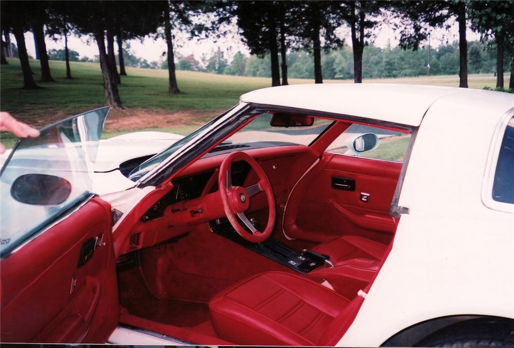 1978 CHEVROLET CORVETTE COUPE - Interior - 70963