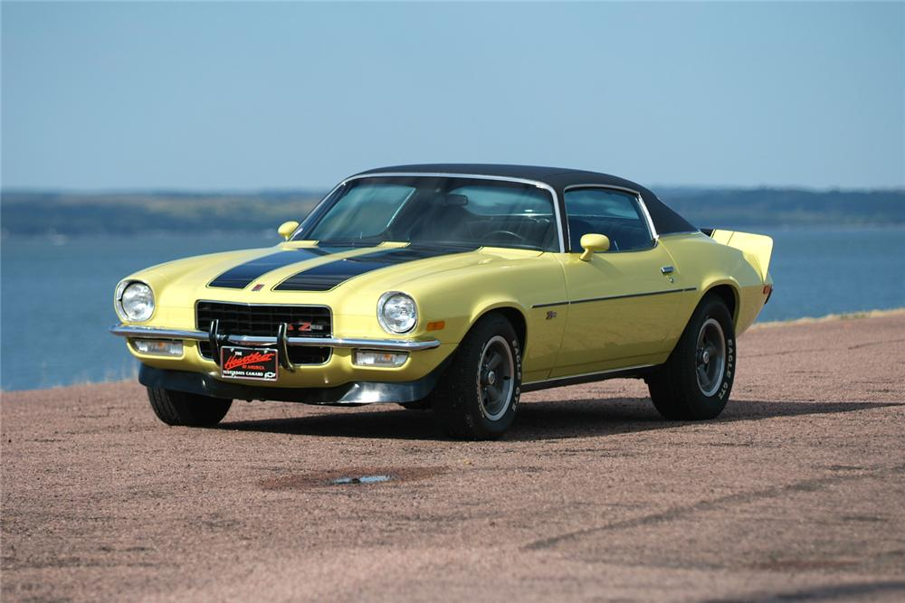1973 CHEVROLET CAMARO Z/28 COUPE - Front 3/4 - 70964