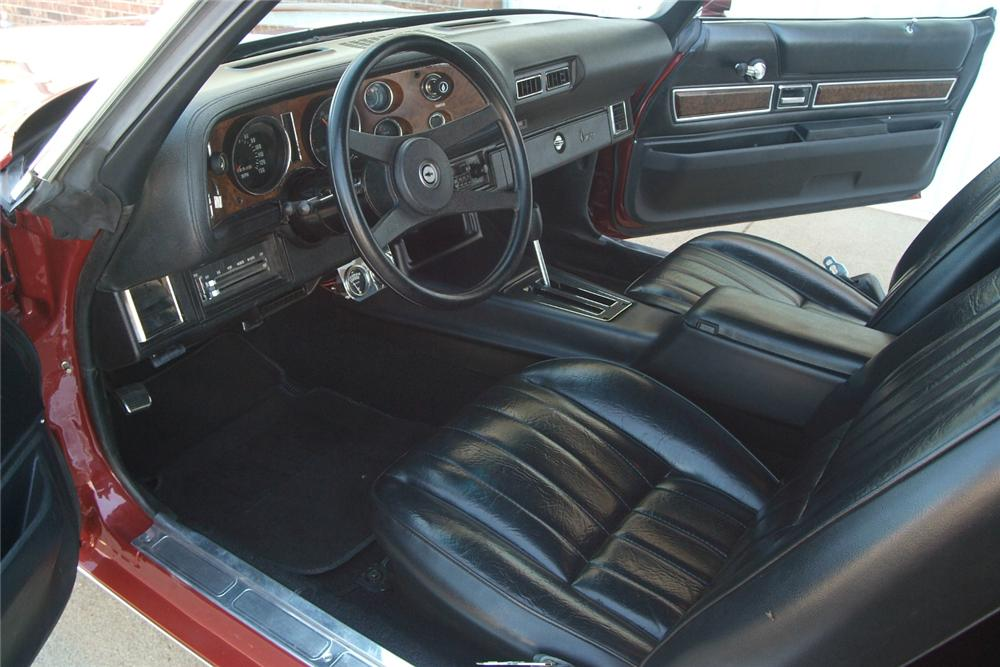 1973 CHEVROLET CAMARO Z/28 COUPE - Interior - 70965