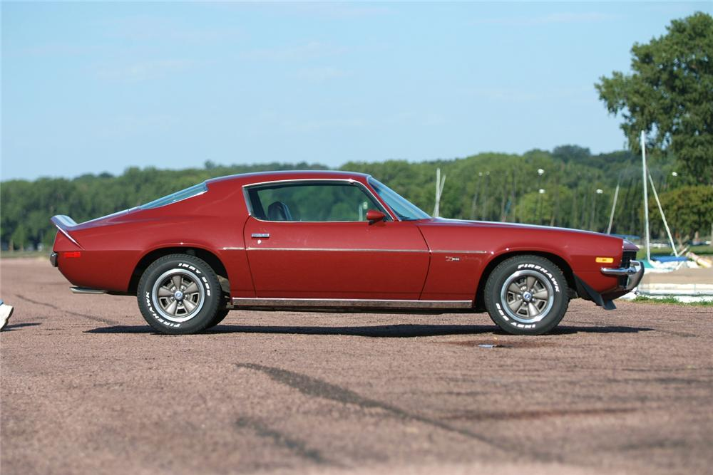 1973 CHEVROLET CAMARO Z/28 COUPE - Side Profile - 70965