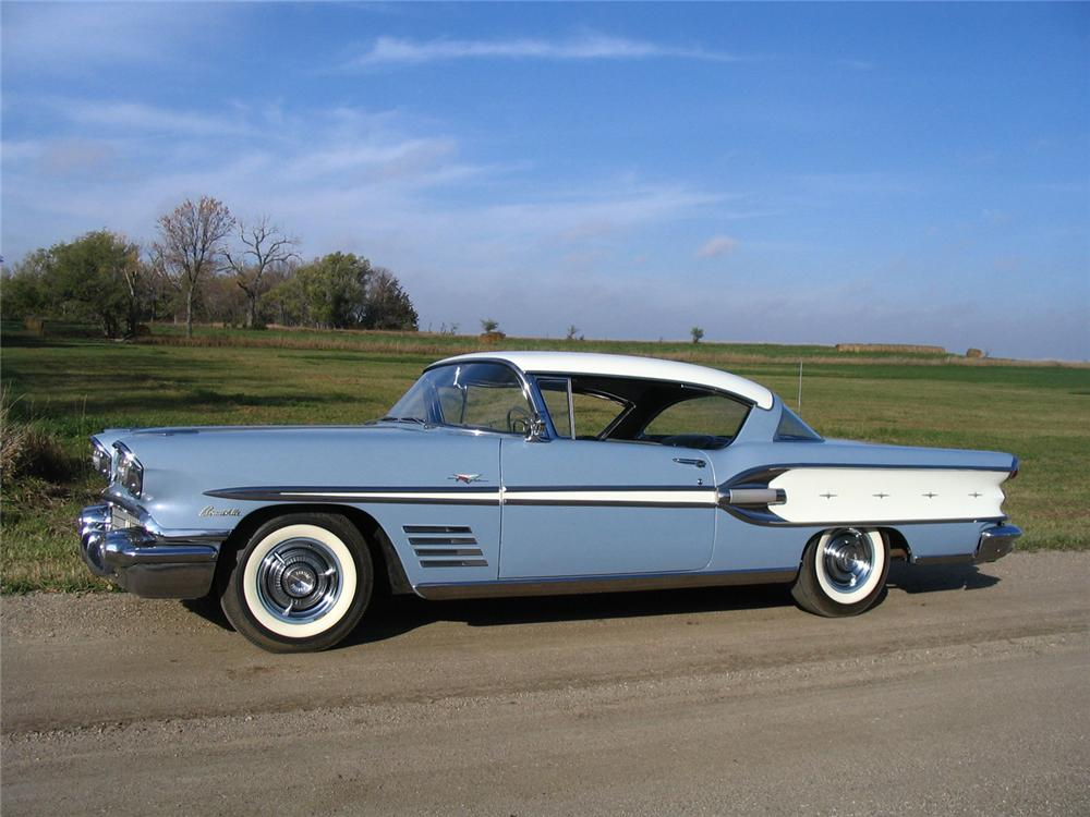 Side By Side For Sale >> 1958 PONTIAC BONNEVILLE 2 DOOR HARDTOP - 70969