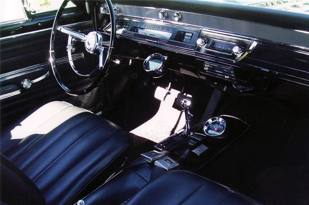 1966 CHEVROLET CHEVELLE CONVERTIBLE SS 396 RE-CREATION - Interior - 70971