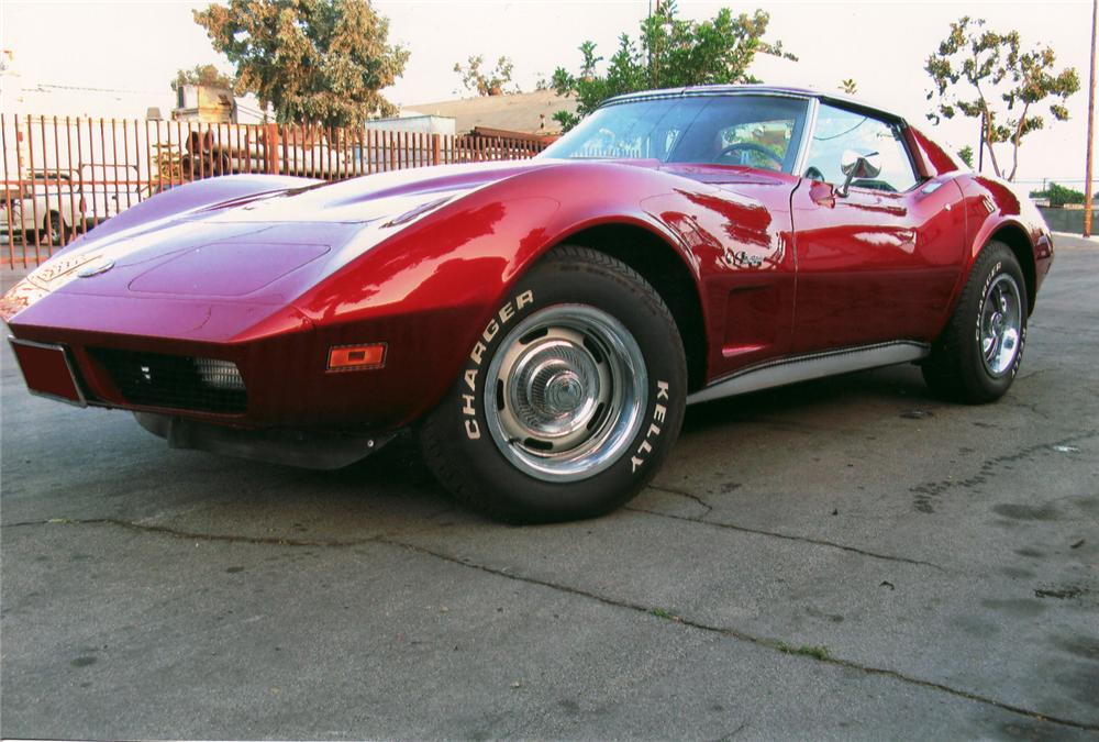 1974 CHEVROLET CORVETTE COUPE - Front 3/4 - 70976