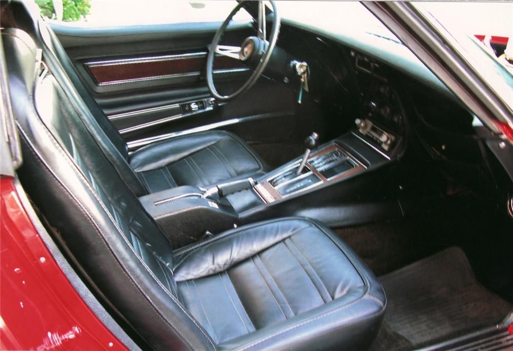 1974 CHEVROLET CORVETTE COUPE - Interior - 70976