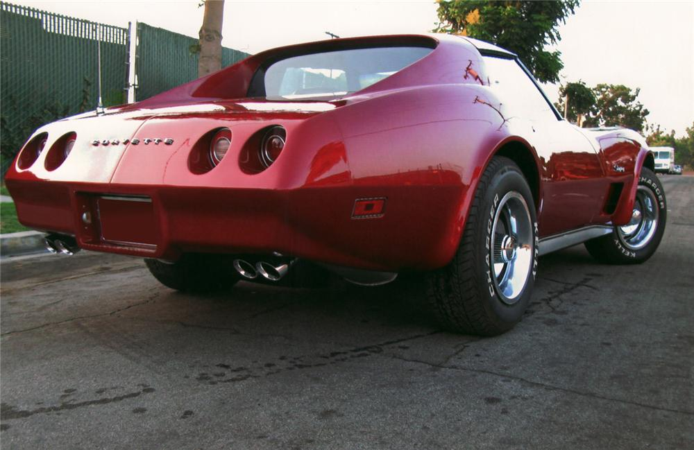 1974 CHEVROLET CORVETTE COUPE - Rear 3/4 - 70976