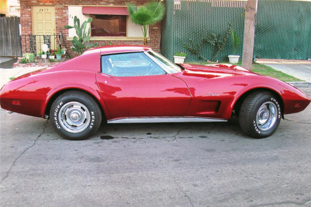 1974 CHEVROLET CORVETTE COUPE - Side Profile - 70976