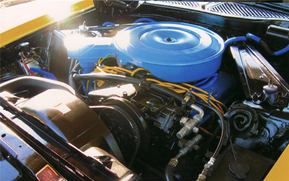 1971 FORD MUSTANG FASTBACK - Engine - 70977