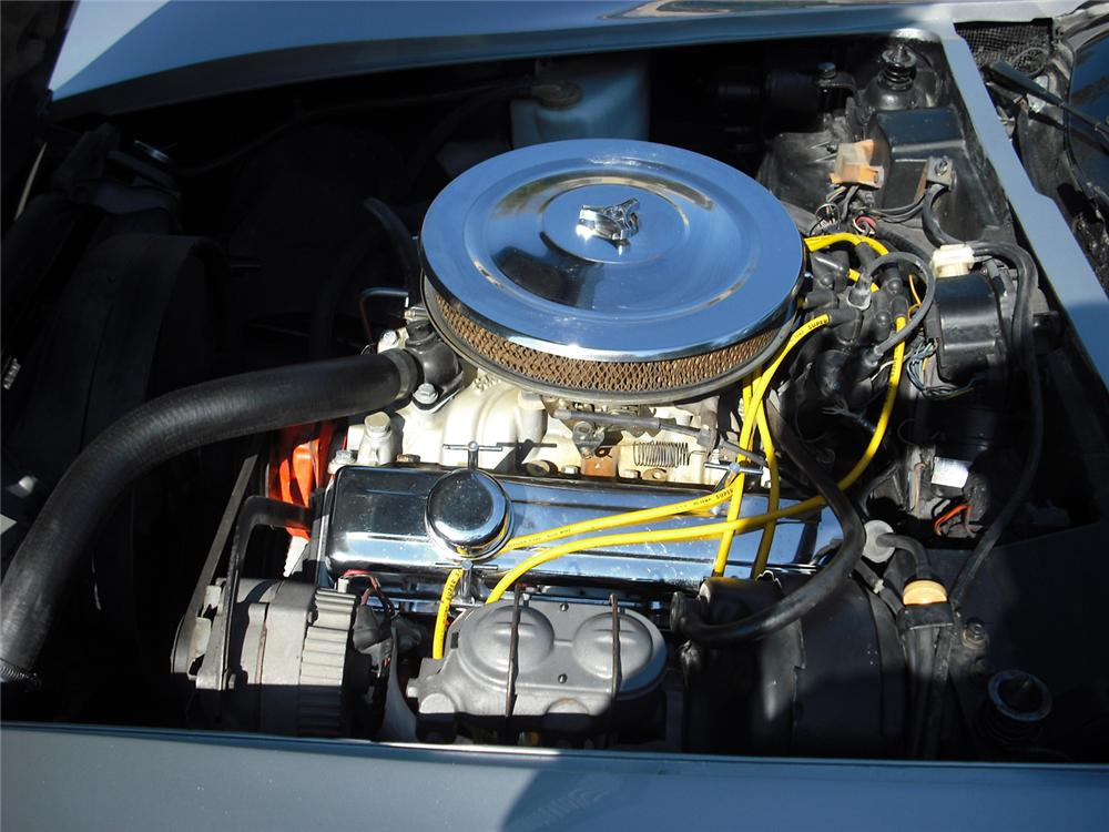 1974 CHEVROLET CORVETTE COUPE - Engine - 70978
