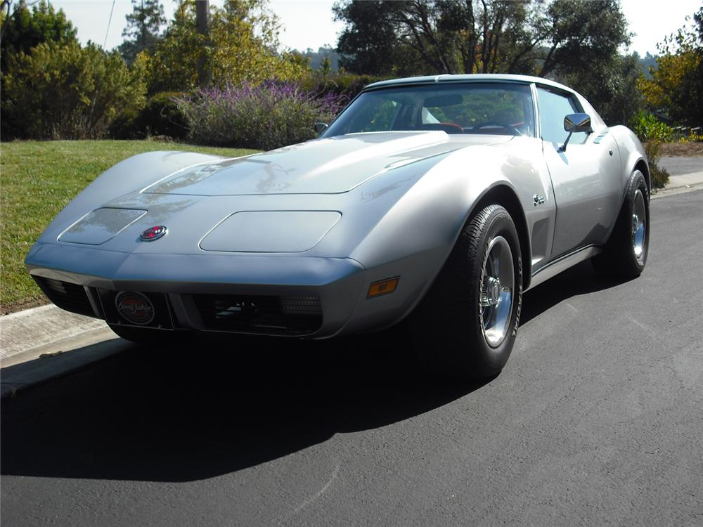 1974 CHEVROLET CORVETTE COUPE - Front 3/4 - 70978