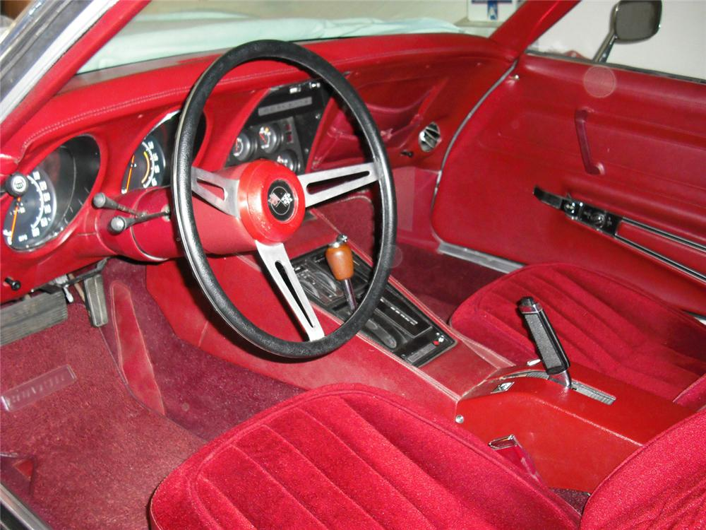 1974 CHEVROLET CORVETTE COUPE - Interior - 70978