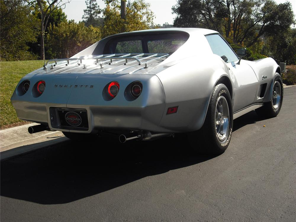 1974 CHEVROLET CORVETTE COUPE - Rear 3/4 - 70978