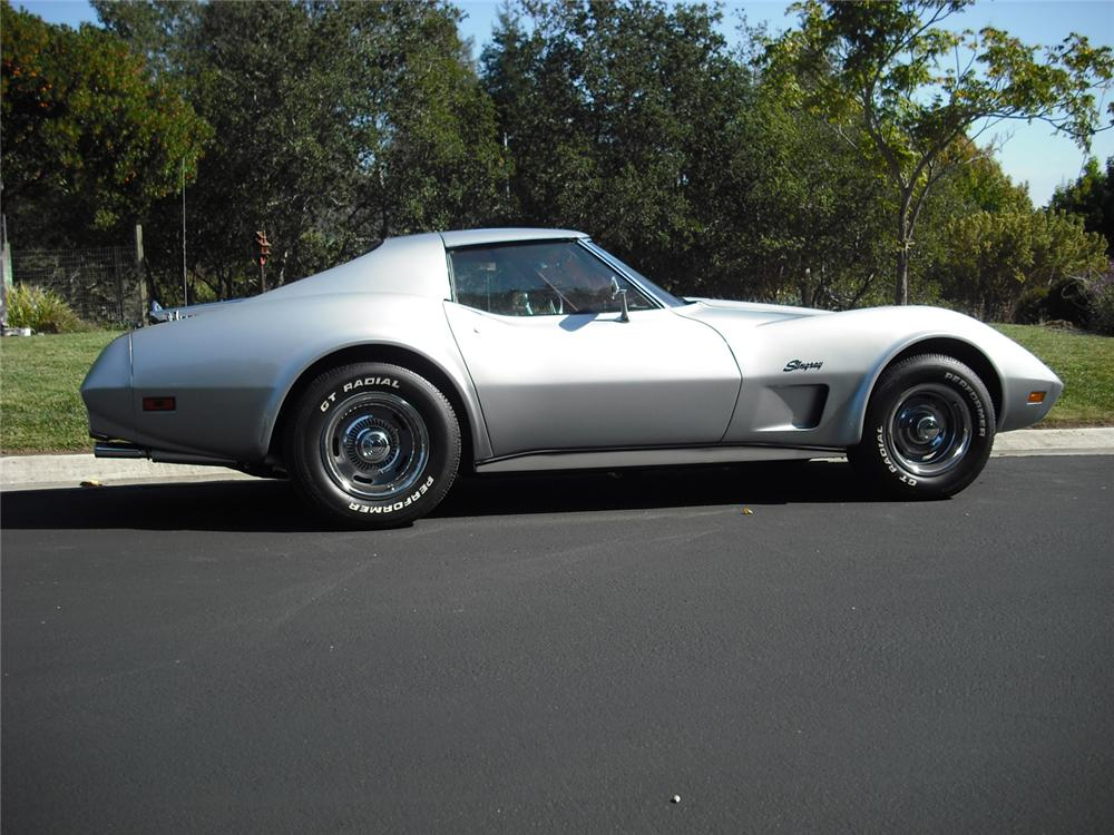 1974 CHEVROLET CORVETTE COUPE - Side Profile - 70978