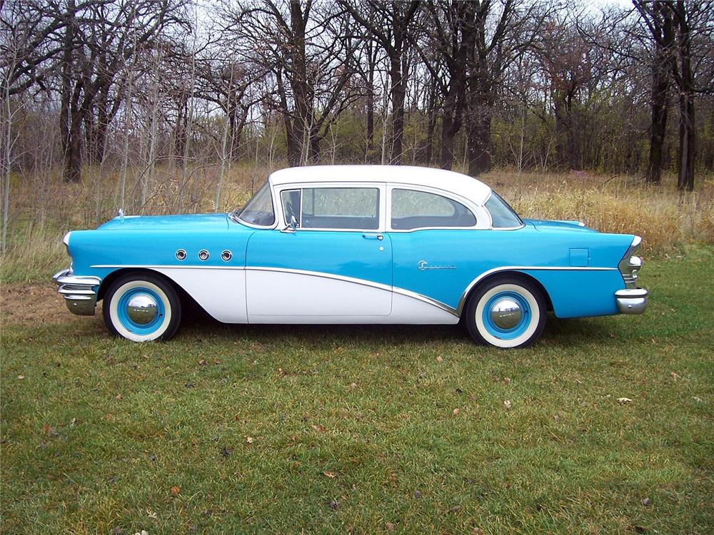 1955 BUICK SPECIAL 2 DOOR COUPE - Side Profile - 70981