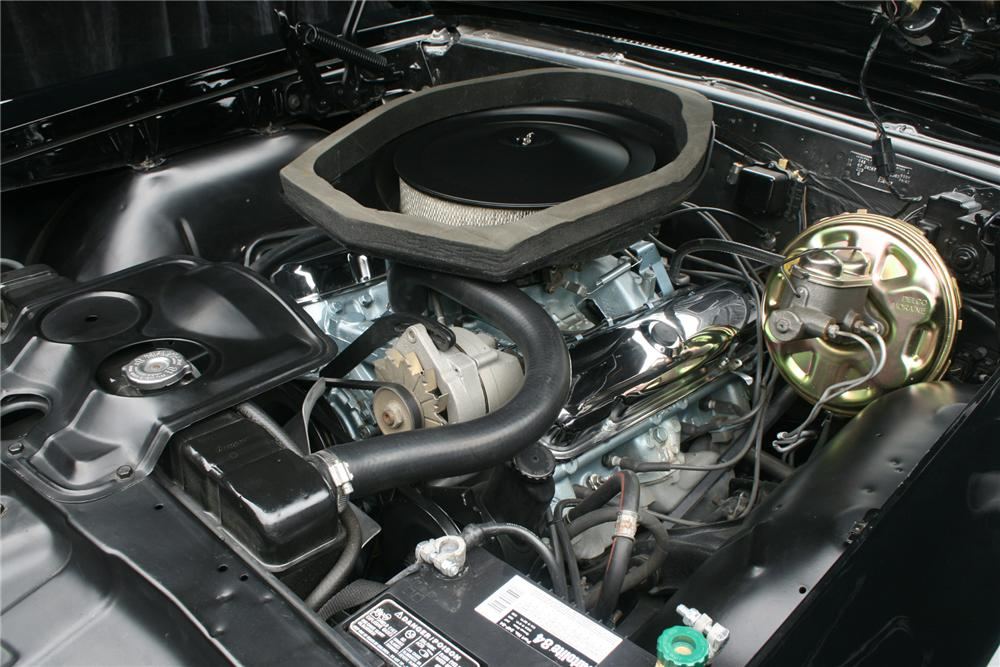 1967 PONTIAC GTO CONVERTIBLE - Engine - 70985