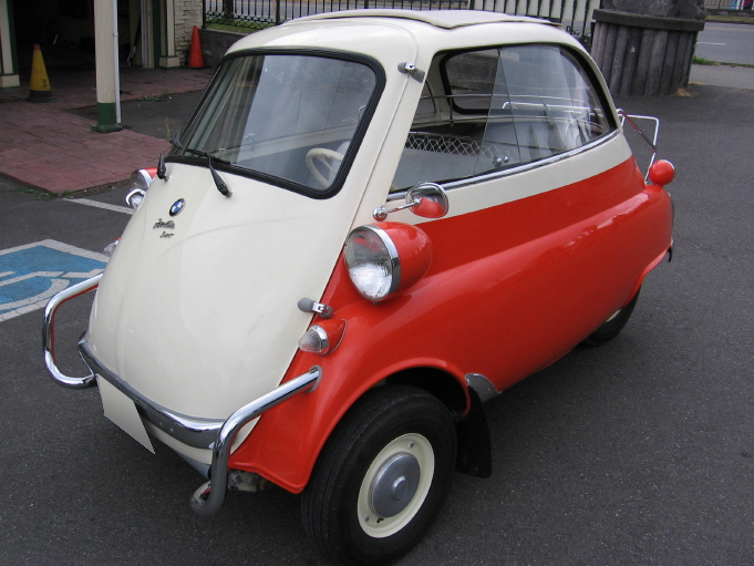 1957 Bmw Isetta One Door Motocoupe Deluxe