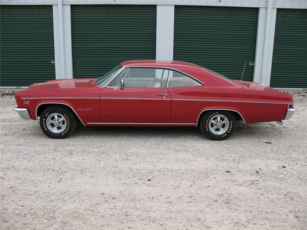 1966 CHEVROLET IMPALA SS 2 DOOR HARDTOP - Side Profile - 71005