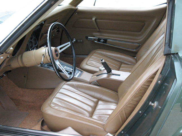 1969 CHEVROLET CORVETTE 2 DOOR COUPE - Interior - 71006