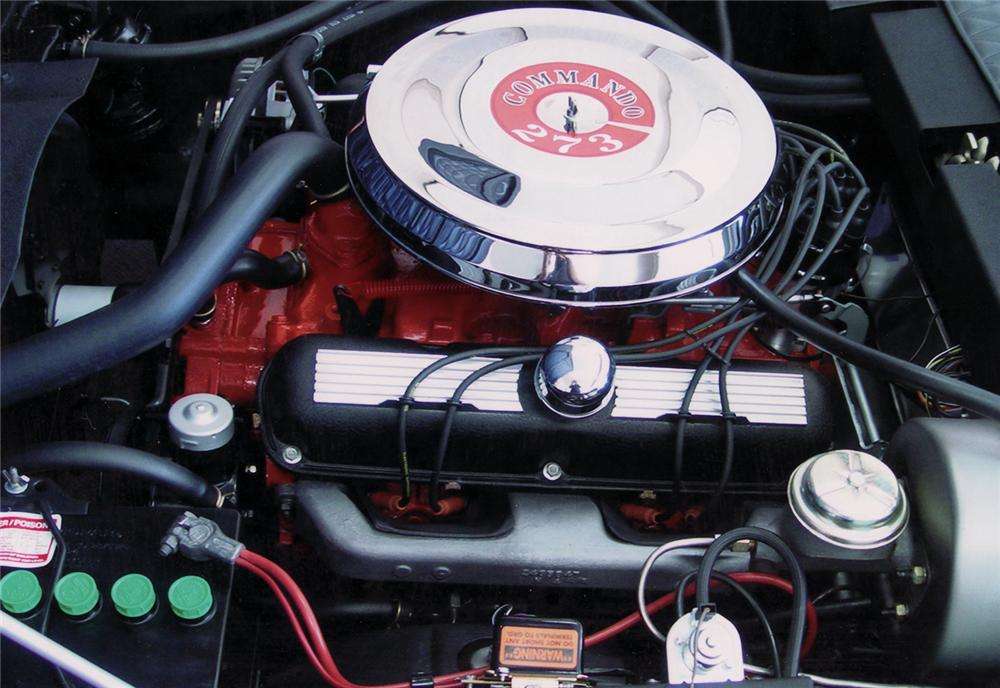 1967 GHIA 450 SS CONVERTIBLE - Engine - 71010