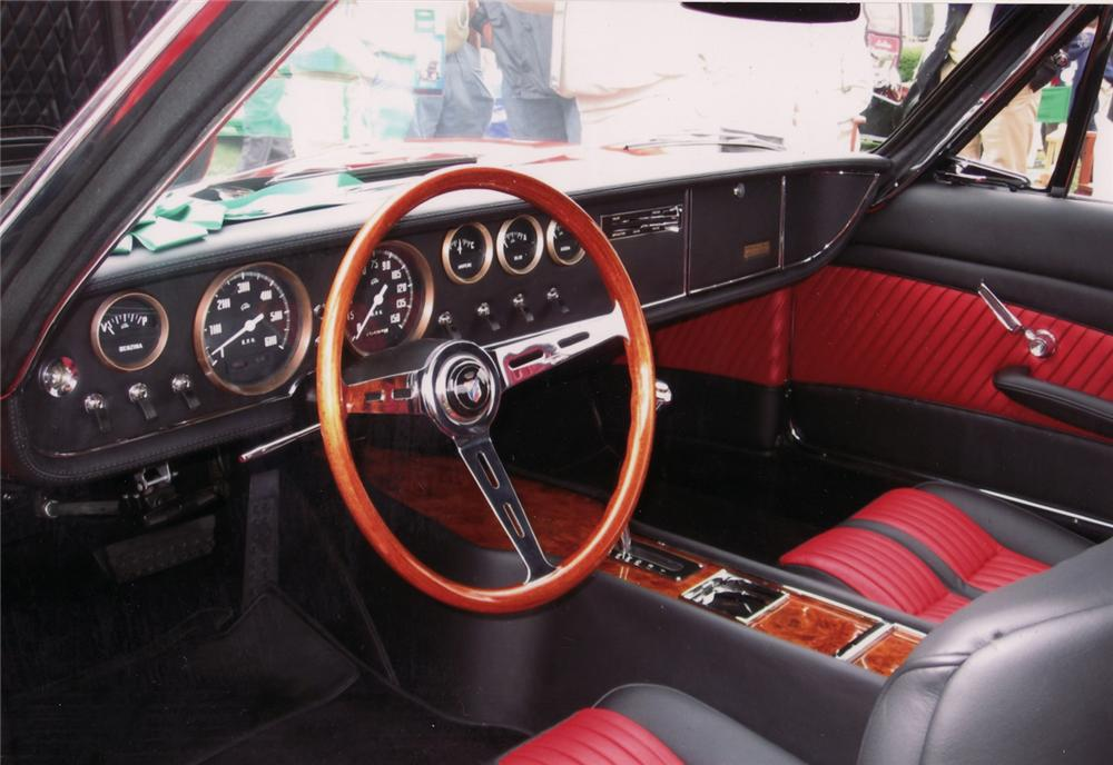 1967 GHIA 450 SS CONVERTIBLE - Interior - 71010