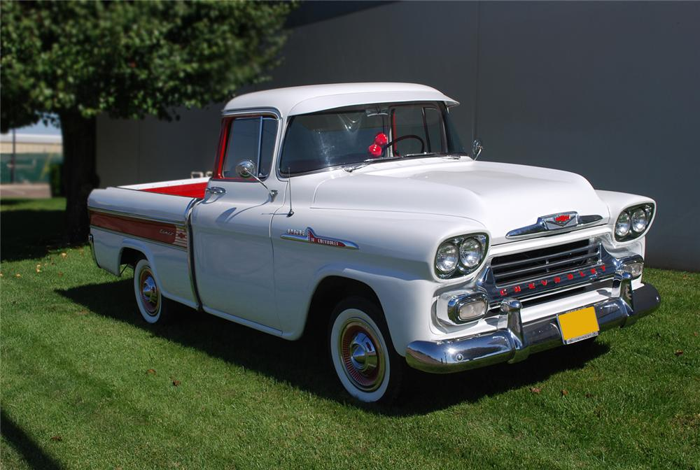 1958 CHEVROLET CAMEO CARRIER PICKUP - Front 3/4 - 71036