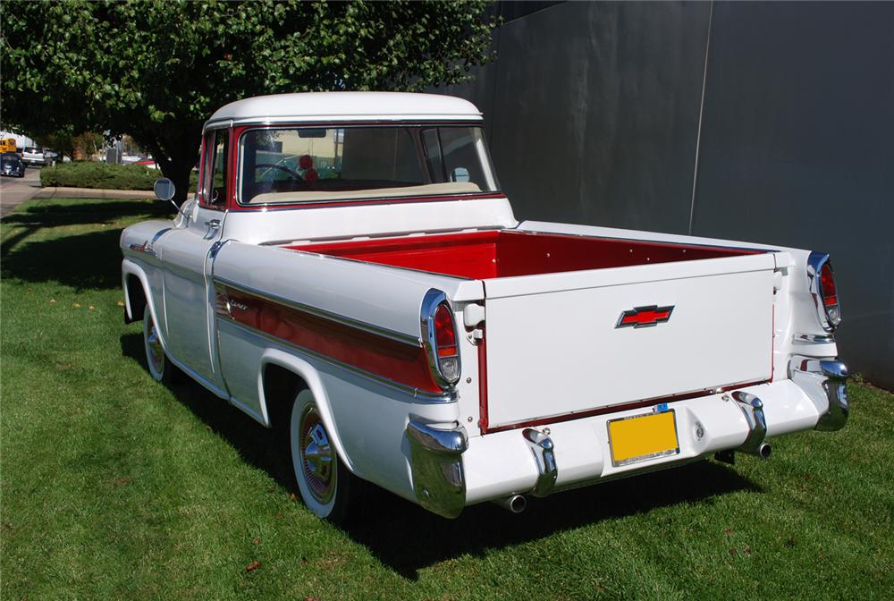 1958 CHEVROLET CAMEO CARRIER PICKUP - Rear 3/4 - 71036